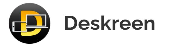 Deskreen : transformer n'importe quel appareil en second écran de PC.