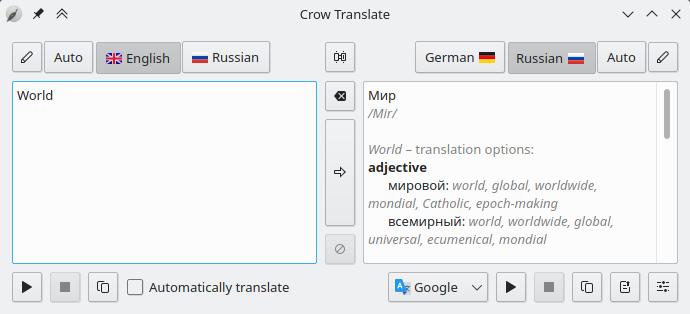 Crow Translate : un outil open source pour intégrer la traduction instantanée à votre système.
