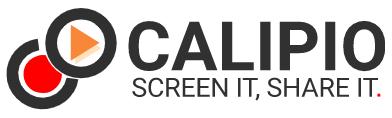 Calipio : Filmer son écran avec (ou sans) webcam et partager à la volée.