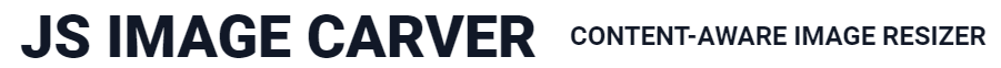 JS Image Carver : changer les proportions et les dimensions d'images sans modifier le contenu.