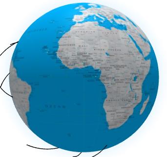 Globe 3D : Transformer ses planisphères en globe dynamique en trois dimensions.